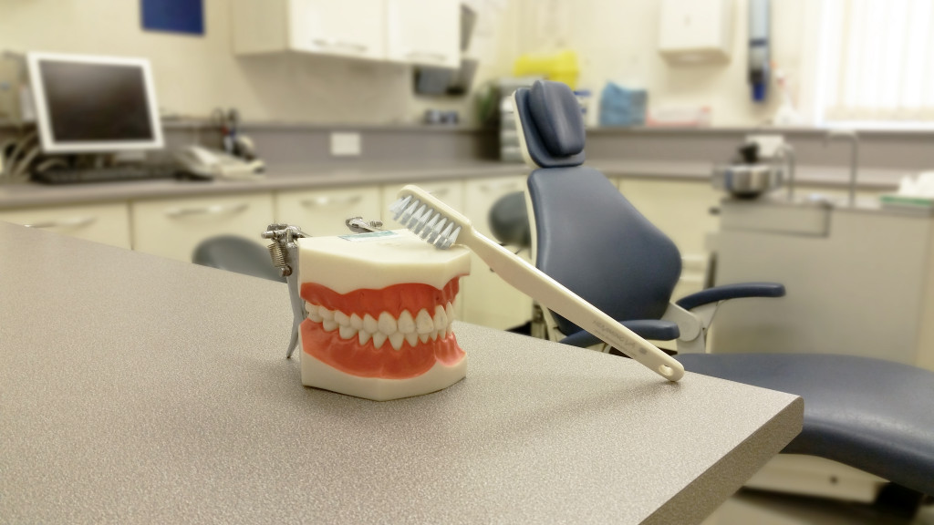 Sprotbrough Dental Practice Dentist Room